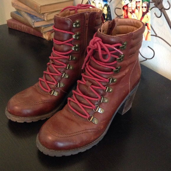 Lucky Brand Lace Up Boots   Poshmark