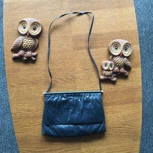 Vintage Mardane USA purse, blue 70's 80's