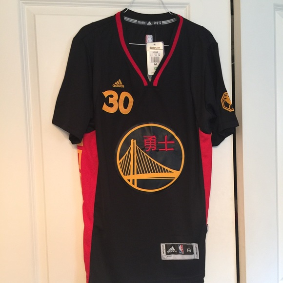Stephen Curry Chinese New Year Swingman Jersey c16a97cb8