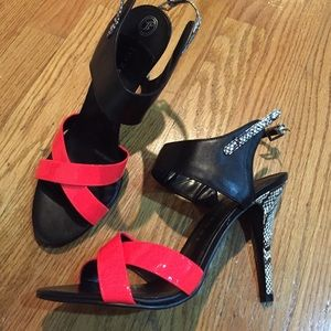 Ivanka Trump high heeled shoes size 9M