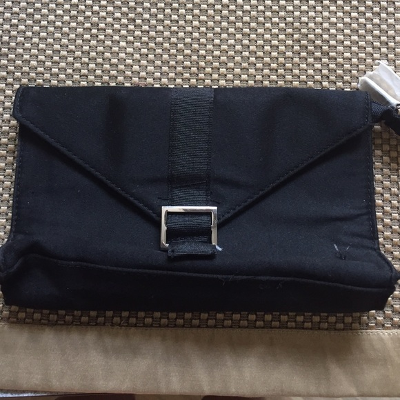 Ysl Black Makeup Bag Clutch New f3795e6adeef4
