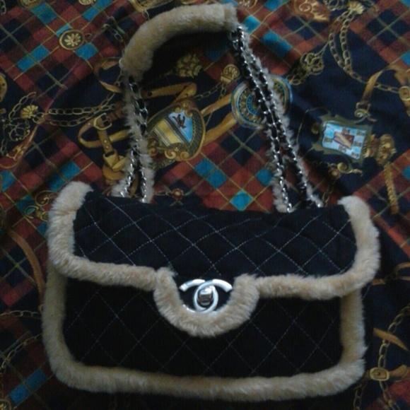 952854440038fb CHANEL Handbags - Chanel Shearling Fur Flap Bag