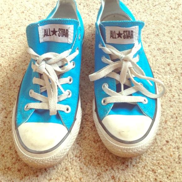 Converse Shoes   Bright Blue Converse