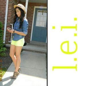 lei Denim - Lowrise Shorts
