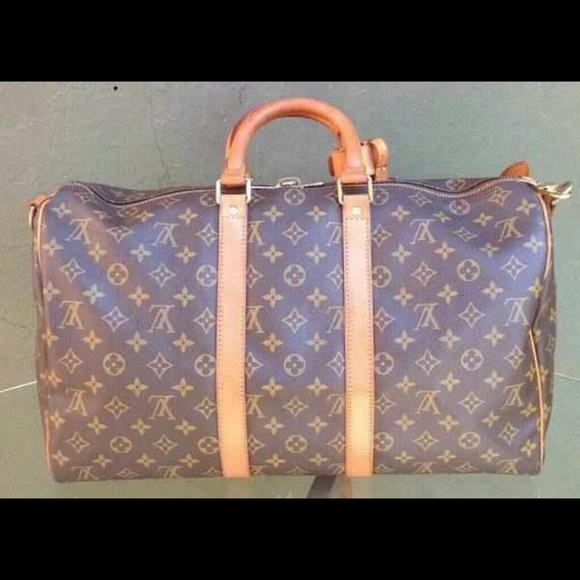 Louis Vuitton Bags Keepall 45 Bandouliere Poshmark