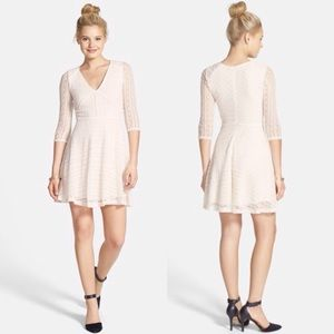 Urban Outfitters Dresses & Skirts - NWOT Lush Lace Skater Dress Ivory