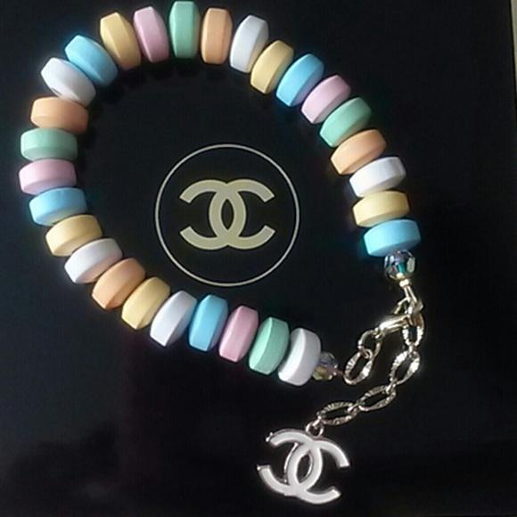 CHANEL Fashion Jewelry - New! Designer 2014 15 Ltd. CHANEL Candy Bracelet 3f9005fd9ff