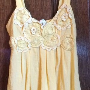 Precious Yellow Sun Dress