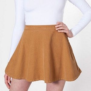 NEW! American Apparel corduroy circle skirt!