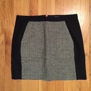 Never worn j crew back and tweed mini skirt