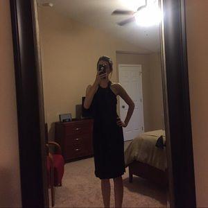 Black Loft knit dress