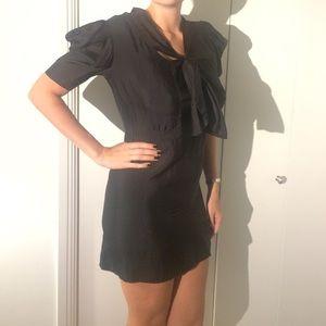 """Black silk dress """"See by Chloé"""""""