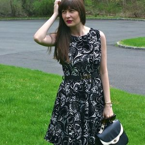 Dresses & Skirts - Paisley Print Skater Dress