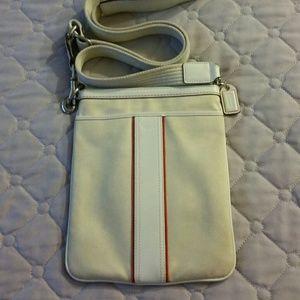 Coach Canvas Messenger Bag