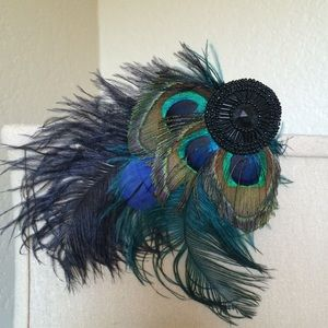 Accessories - Feather hair clip