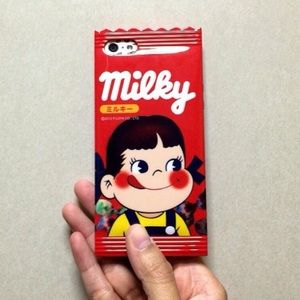 Red Milky iPhone Case