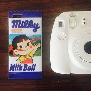 Blue Milky iPhone Case
