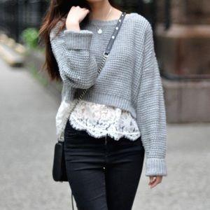 HoSt PiCk ❄️❄️Michael Kors Crop Sweater