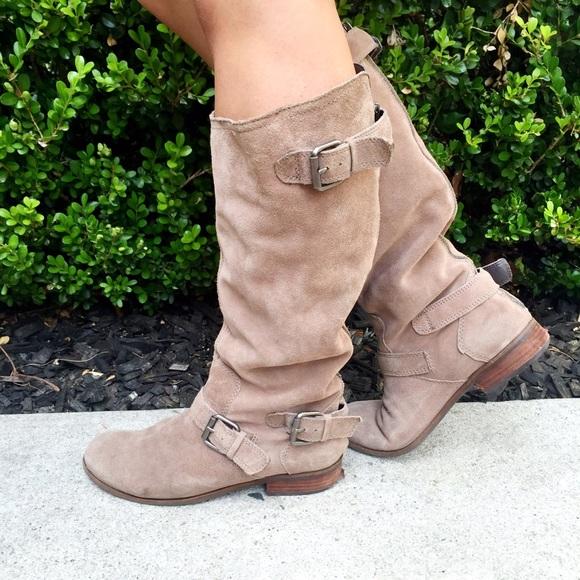 33d97fcbb1c Dolce Vita Shoes - HP 🎉 DV Zela Flat Buckle Boots