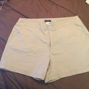 J. Crew Other - ✨Clearance! J.Crew khaki shorts size 6