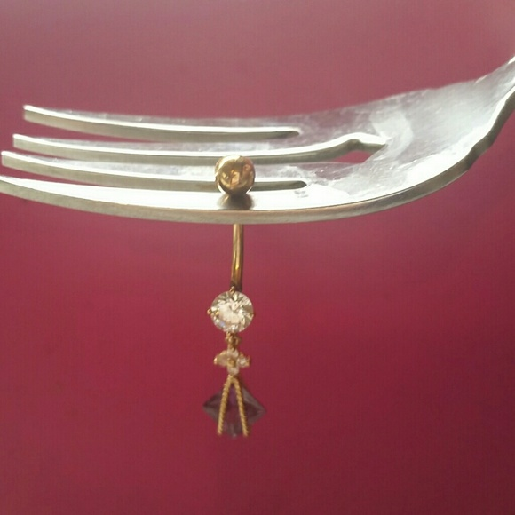 10k Gold Belly Button Ring