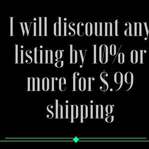 Other - .99 shipping on all price drops! Make an offer!