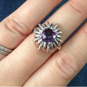 David Yurman Jewelry - ⚡️SALE⚡️! AUTH David Yurman amethyst Starburst