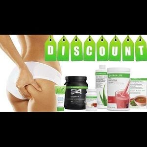 Cellulose and total control Herbalife! 25% off