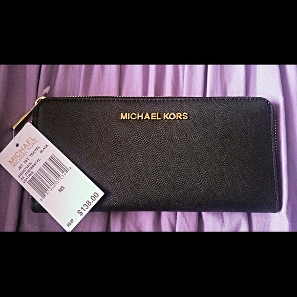 4968d24bba08 ... jet set travel saffiano leather continental wallet luggage f181c fda4c;  coupon for michael kors specchio wallet b8bc6 dcd69