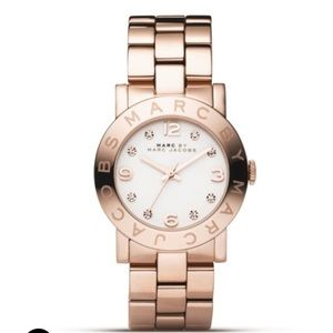 Marc Jacobs Rose Gold Amy Bracelet Watch