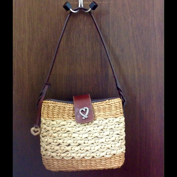 Brighton Bags Straw Summer Bag Poshmark