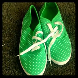 Shoes - Green sneakers