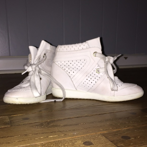 4cbfa01f19 Isabel Marant Shoes | Bobby Sneakers White Sz 36 | Poshmark