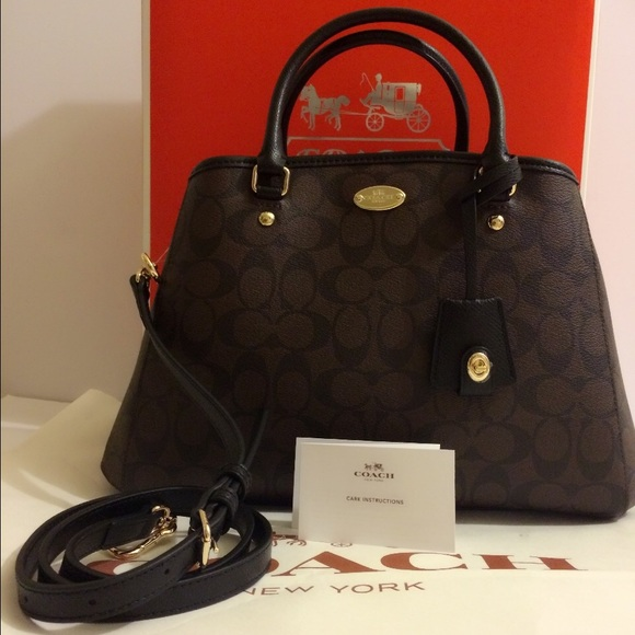 37fffc700bf0 LOW PRICE ✅COACH SIGNATURE MARGO CARRY ALL SATCHEL