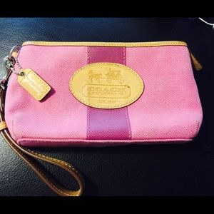 Coach Bags - Beautiful wristlet with Coin purse