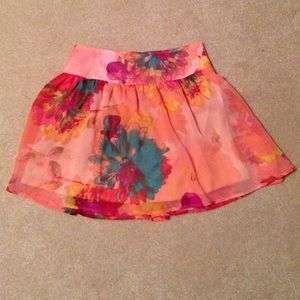 Wet seal skirt sz S