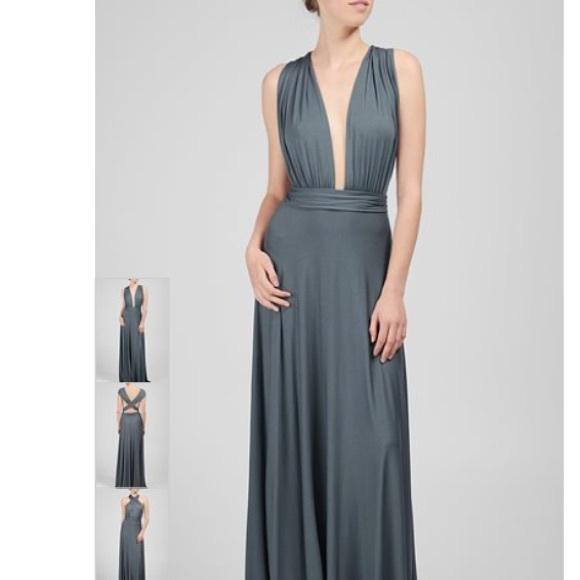 Rachel Pally Dresses - Rachel Pally infinity teal stretch maxi dress