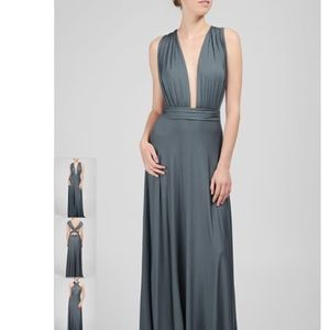 Rachel Pally Dresses - Rachel Pally infinity teal stretch maxi dress