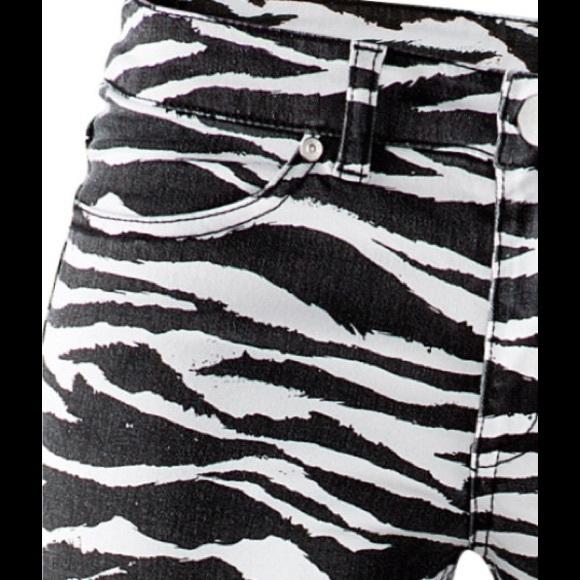H&m Jeans Zebra Print
