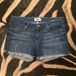 Paige Jeans Jimmy Jimmy Shorts