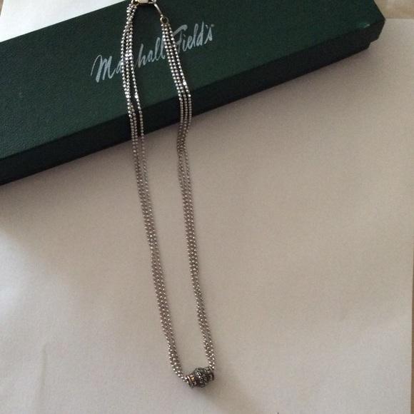 Judith jack  Jewelry - Judith Jack Sterling marcasite drop dainty pendant