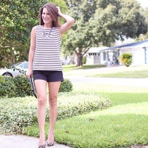LOFT Tops - Striped tank