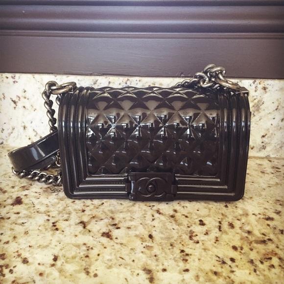 Handbags - Black Jelly Le Boy Mini Bag aee5f438c2947