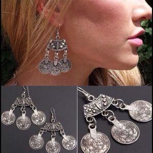 Jewelry - 🎀 @KROCK7,, Bundled - Boho Coin Earrings