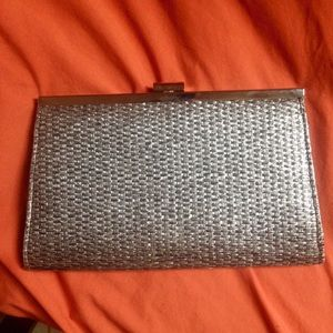 Forever 21 Silver Clutch