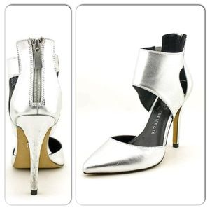 Rock & Republic Emery Silver High Heels 7.5 👠👡