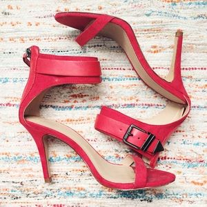 Zara Shoes - Zara Ankle Strap Heels