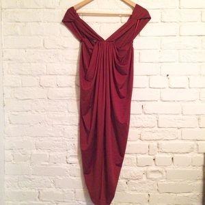 H&M Dresses & Skirts - H&M drape style dress | Size 4