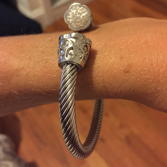 72 off jewelry silver detail bracelet david yurman for David yurman like bracelets