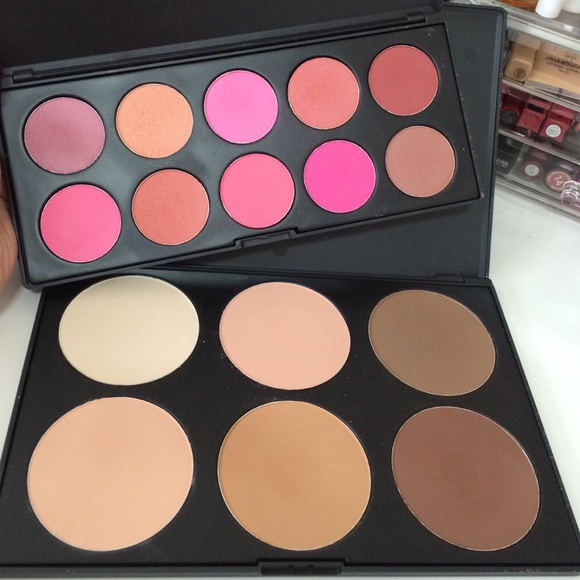 Morphe Brushes Blush Palette And Contour Palette
